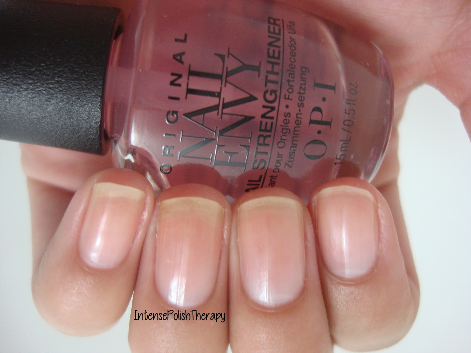OPI Nail Envy Strength + Color #Pink to Envy | Beauticool.com