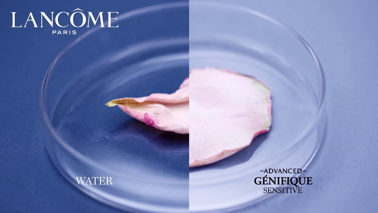 lancome genifique sensitive how to use