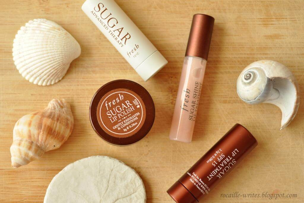 Fresh,Sugar lip Polish,สครับน้ำตาล, Fresh sugar lip polish gently exfoliates and conditions 17g