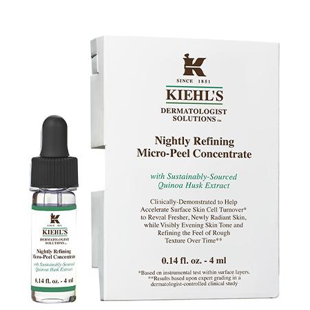 Kiehl's,Nightly Refining Micro-Peel Concentrate,Quinoa Serum,เซรั่มคิวนัว,เซรั่มควินัว,คีลส์ เซรั่ม
