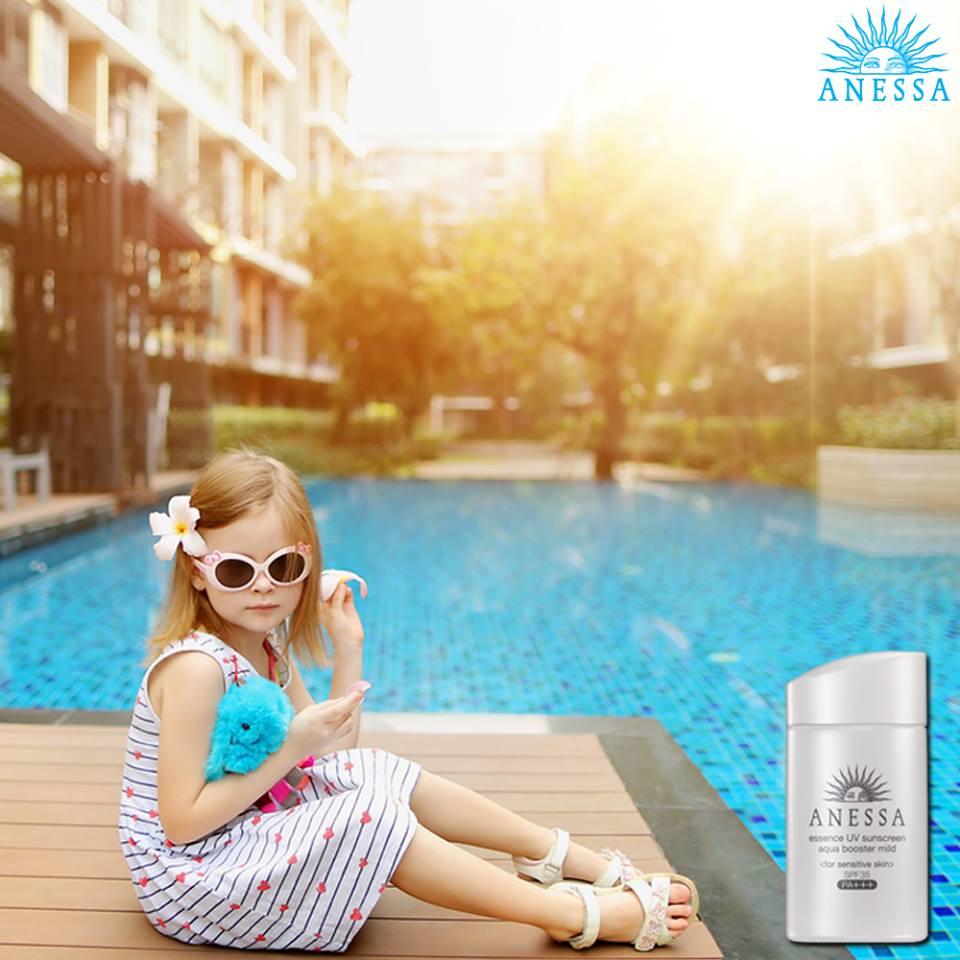 anessa essence uv sunscreen aqua booster mild review