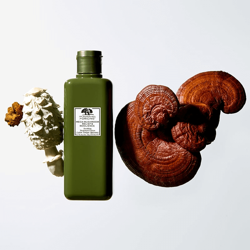 Origins,Origins Mega-Mushroom,Origins Mega-Mushroom Relief & Resilience Soothing Treatment Lotion,Mega-Mushroom,Mega-Mushroom Relief & Resilience Soothing Treatment Lotion,Origins Treatment Lotion ราคา, ออริจิ้น รีวิว, Origins Mega-mushroom 30 ml. รีวิว,