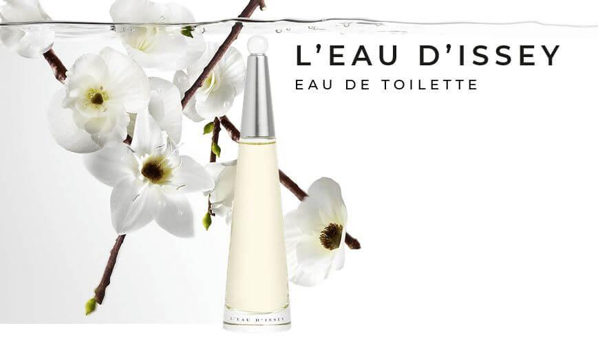 ISSEY MIYAKE !! L`Eau D`Issey For Women Eau De Toilette 10ml  น้ำหอมที่มีกลิ่นหอมอ่อนๆ และสดใสของดอกกุหลาบและดอกบัว   Beauticool.com