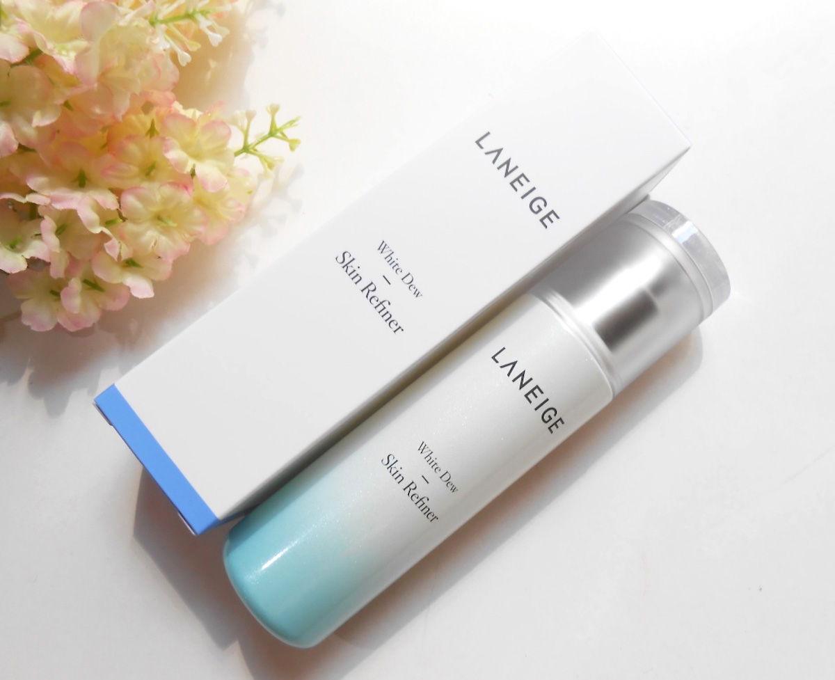 Laneige WHITE DEW Skin Refiner 120 ml. หยดประกายสว่างใสใส่จุดด่างดำ
