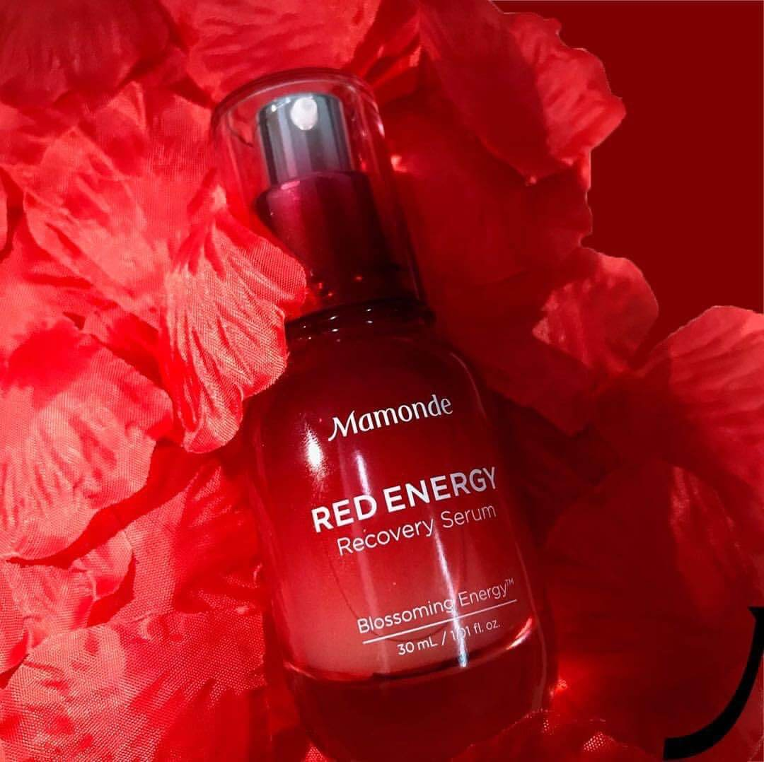 Mamonde,Mamonde Red Energy Recovery Serum,Mamonde Red Energy Recovery Serum ราคา,Mamonde Red Energy Recovery Serum รีวิว,Mamonde Red Energy Recovery Serum ใช้ดีไหม,Mamonde Red Energy Recovery Serum ไซส์ทดลอง
