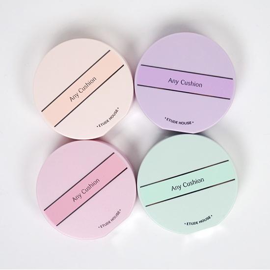 Any Cushion Color Corrector SPF34 PA++ #Pink 14g คัลเลอร์ คอเร็คเทอร์ คูชั่น บํารุงผิวและแต่งหน้าในขั้นตอนเดียว! ที่จะช่วยปรับสีผิวให้เรียบเนียนสม่ําเสมอ