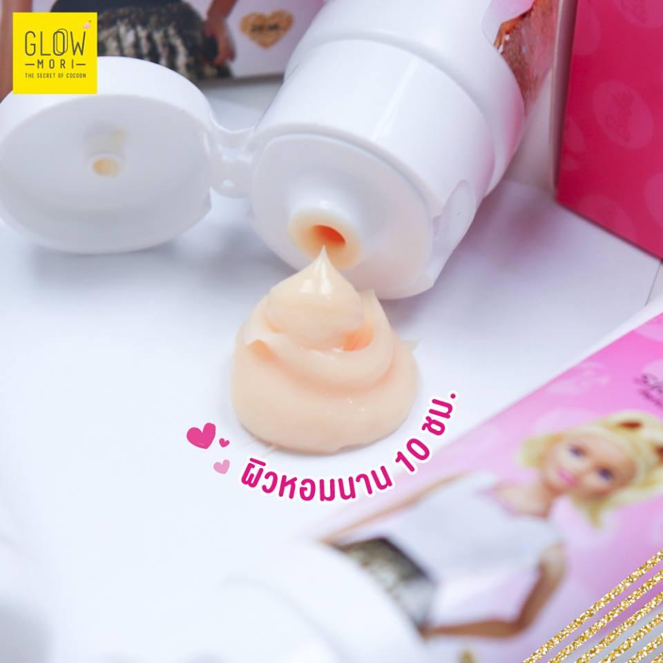 GLOW MORI, Glow Mori X Barbie Perfume Body Lotion, Glow Mori X Barbie Perfume Body Lotion รีวิว, Glow Mori X Barbie Perfume Body Lotion ราคา, Glow Mori X Barbie Perfume Body Lotion 20 ml., Glow Mori X Barbie Perfume Body Lotion กลิ่น Love Spell, Glow Mori X Barbie Perfume Body Lotion 20 ml. โลชั่นน้ำหอมบาร์บี้ กลิ่น Love Spell เซ็กซี่ซุกซน พร้อมบำรุงผิวขาวเนียนนุ่มชุ่มชื้น