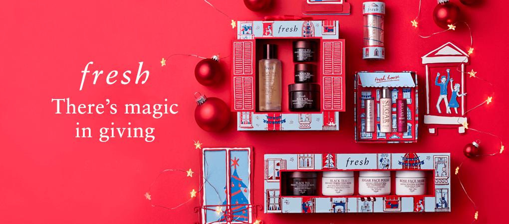 FreshLimited-edition 2019 Holiday Gift Sets  ของขวัญที่เหมาะสำหรับทุกโอกาส ที่ไม่เพียงสร้างความประทับใจแด่ผู้รับ แต่ยังสร้างประสบการณ์อันแสนวิเศษเมื่อพวกเขาได้ใช้ผลิตภัณฑ์ที่เราบรรจงคัดสรรมาอย่างดีจาก fresh