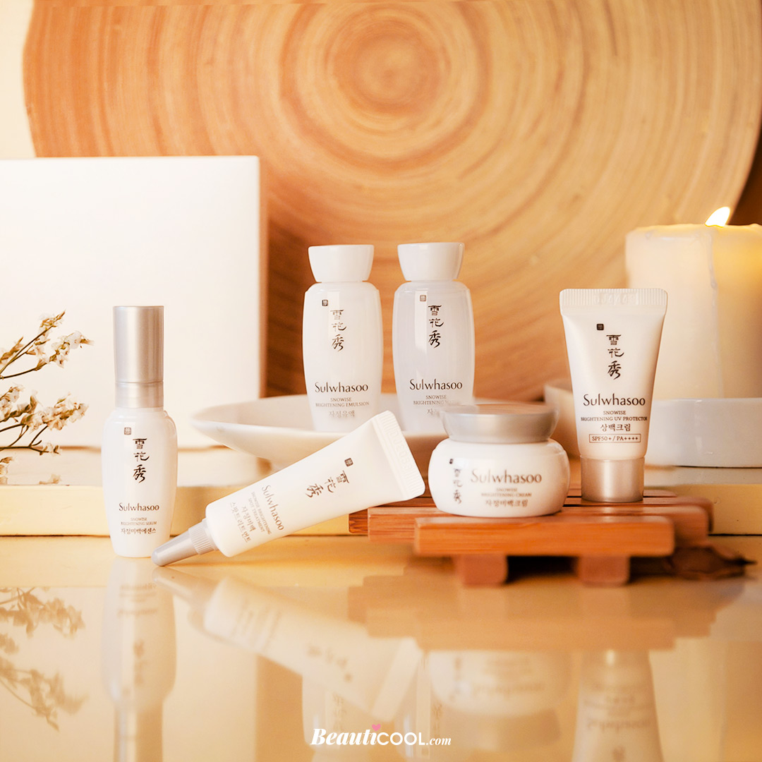 Sulwhasoo,Sulwhaso Snowise Brightening Kit 6 items