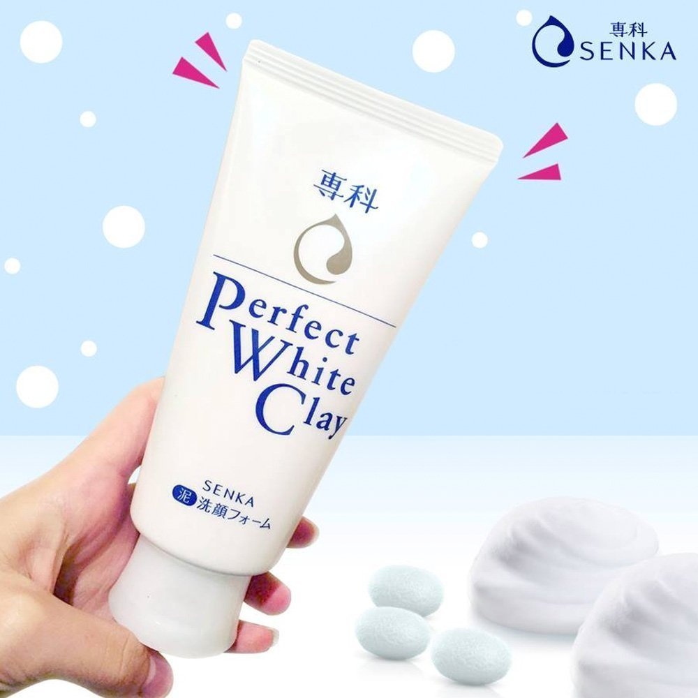 SENKA Perfect White Clay 120g
