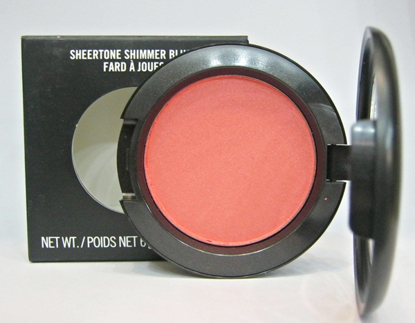 MAC Sheertone Shimmer Blush #Foolish Me ,บลัชออน,MAC,MACบลัชออน,Sheertone Shimmer Blush, #Foolish Me