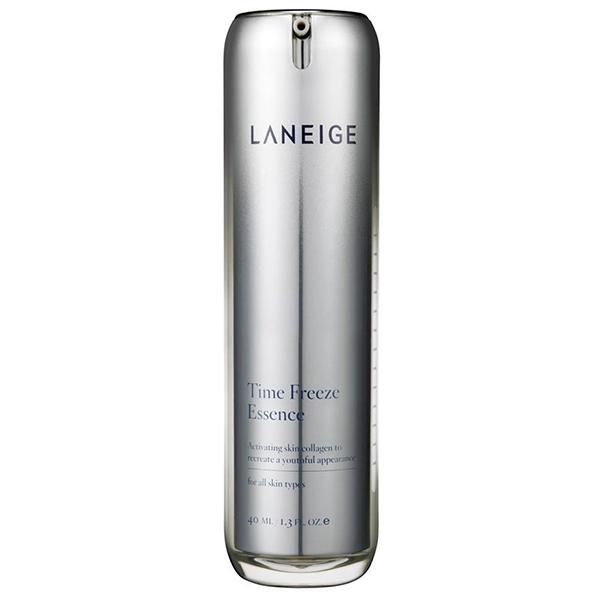 Laneige, Laneige Time Freeze Essence รีวิว, Laneige Time Freeze Essence ราคา, Laneige Time Freeze Essence 40 ml., Laneige Time Freeze Essence 40 ml. เอสเซนส์เนื้อบางเบา ซึมซาบเร็ว ตรงเข้าเสริมสร้างและฟื้นฟูโครงสร้างคอลลาเจนในชั้นผิว เพื่อผิวที่อ่อนเยาว์ลง