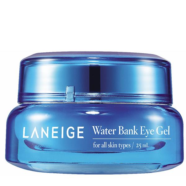 Laneige, Laneige Water Bank Eye Gel, Laneige Water Bank Eye Gel, Laneige Water Bank Eye Gel รีวิว, Laneige Water Bank Eye Gel  ราคา, Laneige Water Bank Eye Gel 25 ml., Laneige Water Bank Eye Gel 25 ml. เจลบำรุงผิวรอบดวงตา อุดมด้วยวิตามินเข้มข้นของสารสกัดจากบิลล์เบอร์รี่ ช่วยเติมเต็มความชุ่มชื่น ให้กับผิวรอบดวงตา