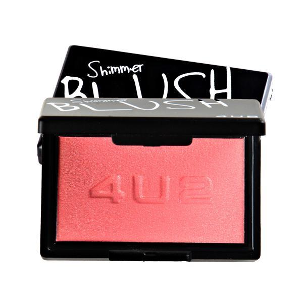 Shimmer Blush #04 Dare 4.5g บรัชออนชิมเมอร์ สีชมพูฟรุ้งฟริ้ง ที่ช่วยเพิ่มเติมความสดใส สวยฉ่ำให้กับพวงแก้ม ใช้ได้ในEveryday Looks