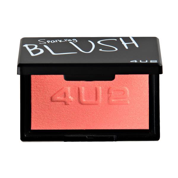 Sparking Blush #01 Rose 4.5g บลัชออนกลิตเตอร์ สีชมพูกุหลาบ ให้พวงแก้มมีประกาย ช่วยเพิ่มเติมความสดใส สวยฉ่ำให้กับพวงแก้ม ใช้ได้ในEveryday Looks