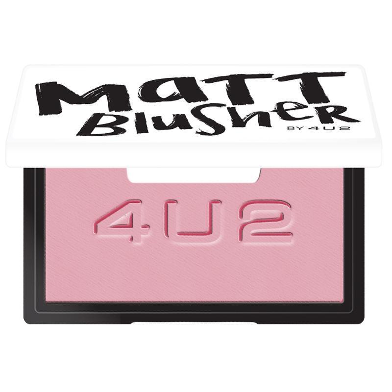 Matt Blusher #01 Urban Pink 7g.บรัชออนเนื้อแมท สีชมพูโทนนู๊ด ให้ลุคหวานๆ น่ารักดูเป็นธรรมชาติ