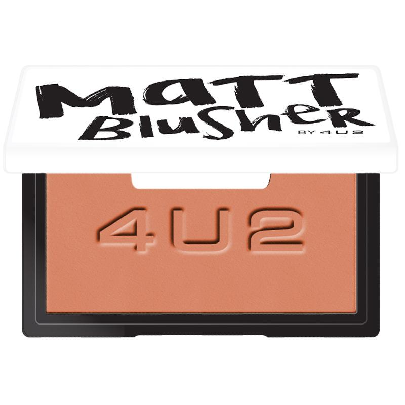 Matt Blusher #02 Skin Coral 7g. บรัชออนเนื้อแมท สีส้มอมน้ำตาล เปรี้ยวๆ ผิวบ่มแดด ดูสุขภาพดี