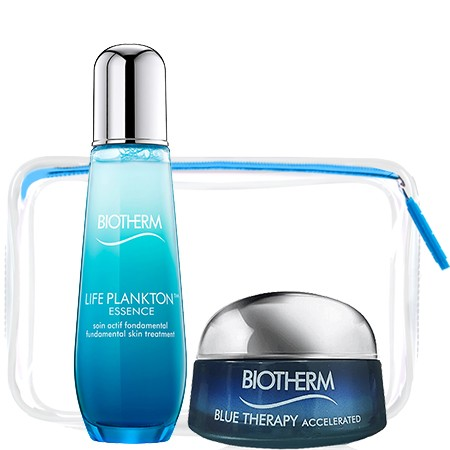 Biotherm Biotherm Set 1 (Limited Edtion) Life Plankton Essence 75 ml. + BLUE THERAPY Accelerate Cream 15 ml + กระเป๋าใส 1 ใบ